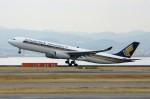 しんさんが、関西国際空港で撮影したシンガポール航空 A330-343Xの航空フォト(写真)