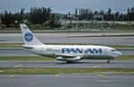 Gambardierさんが、マイアミ国際空港で撮影したパンアメリカン航空 737-222の航空フォト(写真)