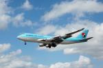 ロンドン・ヒースロー空港 - London Heathrow Airport [LHR/EGLL]で撮影された大韓航空 - Korean Air [KE/KAL]の航空機写真