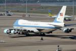 アイスコーヒーさんが、羽田空港で撮影したアメリカ空軍 VC-25A (747-2G4B)の航空フォト(飛行機 写真・画像)
