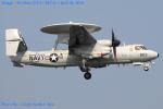 Chofu Spotter Ariaさんが、厚木飛行場で撮影したアメリカ海軍 E-2C Hawkeyeの航空フォト(写真)