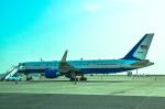 パンダさんが、羽田空港で撮影したアメリカ空軍 VC-32A (757-2G4)の航空フォト(写真)