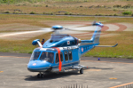 パンダさんが、八丈島空港で撮影した警視庁 AW139の航空フォト(写真)