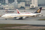 SKYLINEさんが、啓徳空港で撮影したシンガポール航空 747-412の航空フォト(飛行機 写真・画像)