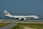 T.Sazenさんが、関西国際空港で撮影したカーゴルクス・イタリア 747-4R7F/SCDの航空フォト(飛行機 写真・画像)