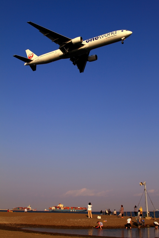 RUNDY!さんが、羽田空港で撮影した日本航空 777-346の航空フォト(飛行機 写真・画像)