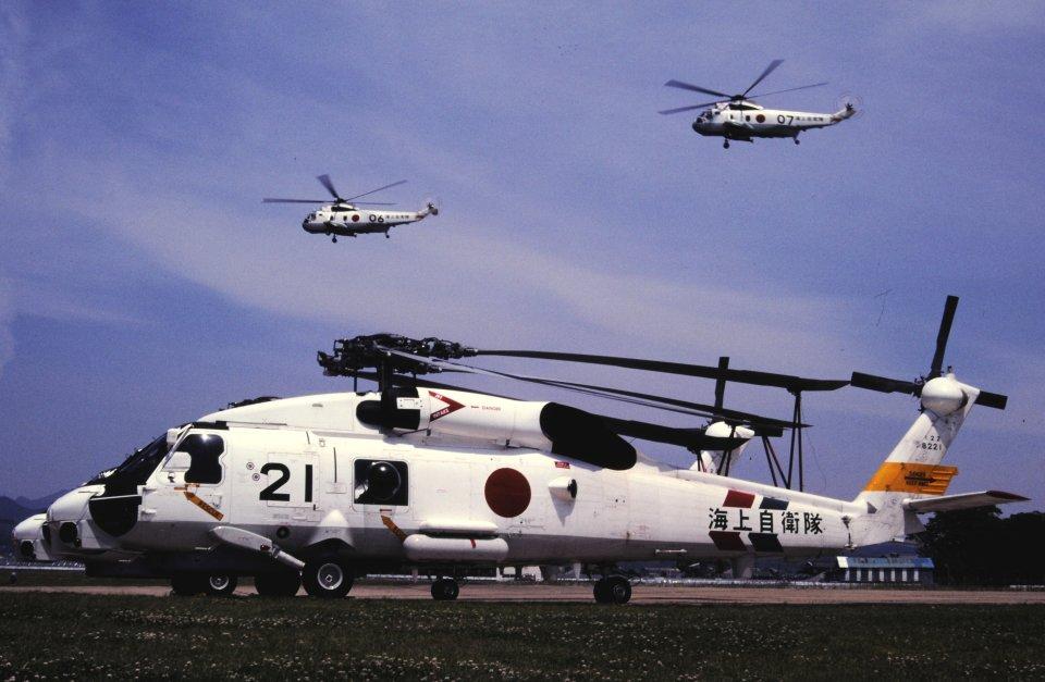 チャーリーマイクさんの海上自衛隊 Mitsubishi SH-60J (8221) 航空フォト