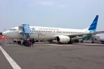 Y-Kenzoさんが、アフマド・ヤニ国際空港で撮影したガルーダ・インドネシア航空 737-83Nの航空フォト(写真)