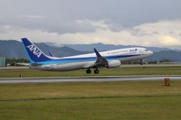 Miraiさんが、熊本空港で撮影した全日空 737-881の航空フォト(飛行機 写真・画像)
