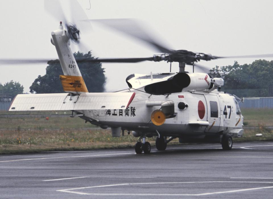 チャーリーマイクさんの海上自衛隊 Mitsubishi SH-60J (8247) 航空フォト