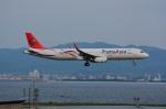 T.Sazenさんが、関西国際空港で撮影したトランスアジア航空 A321-231の航空フォト(飛行機 写真・画像)