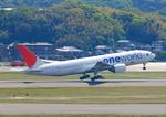ふじいあきらさんが、福岡空港で撮影した日本航空 777-246の航空フォト(飛行機 写真・画像)