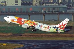 SKYLINEさんが、羽田空港で撮影した日本航空 737-446の航空フォト(写真)