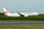 パンダさんが、成田国際空港で撮影したJALエクスプレス 737-846の航空フォト(飛行機 写真・画像)