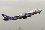 SKYLINEさんが、伊丹空港で撮影した全日空 747SR-81の航空フォト(写真)