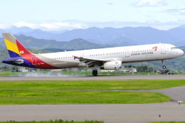 航空フォト:HL7722 アシアナ航空 A321