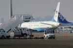 アイスコーヒーさんが、羽田空港で撮影したアメリカ空軍 VC-32A (757-2G4)の航空フォト(飛行機 写真・画像)