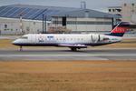 ふじいあきらさんが、伊丹空港で撮影したアイベックスエアラインズ CL-600-2B19 Regional Jet CRJ-100LRの航空フォト(飛行機 写真・画像)