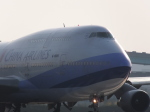 シフォンさんが、福岡空港で撮影したチャイナエアライン 747-409の航空フォト(飛行機 写真・画像)