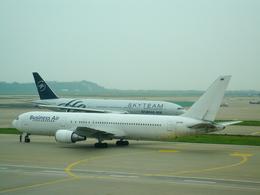 T.Sazenさんが、仁川国際空港で撮影したビジネスエアー 767-341/ERの航空フォト(写真)