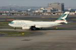 アイスコーヒーさんが、羽田空港で撮影したキャセイパシフィック航空 747-467の航空フォト(飛行機 写真・画像)