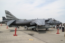 mountainhomeさんが、岩国空港で撮影したアメリカ海兵隊 AV-8B(R) Harrier II+の航空フォト(飛行機 写真・画像)