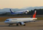 ふじいあきらさんが、広島空港で撮影したフィリピン航空 A320-214の航空フォト(写真)