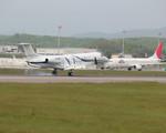 ボーイングさんが、函館空港で撮影したエア・マーキュリー EMB-135BJ Legacyの航空フォト(写真)