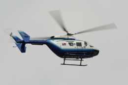 Koenig117さんが、名古屋飛行場で撮影した中日新聞社 BK117C-1の航空フォト(飛行機 写真・画像)