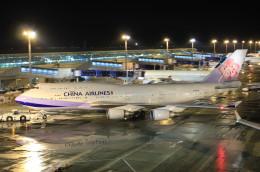 F-2A#533さんが、中部国際空港で撮影したチャイナエアライン 747-409の航空フォト(飛行機 写真・画像)