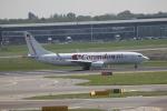 さんみさんが、アムステルダム・スキポール国際空港で撮影したコレンドン・ダッチ・エアラインズ 737-8K2の航空フォト(写真)