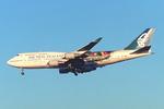 SKYLINEさんが、成田国際空港で撮影したニュージーランド航空 747-419の航空フォト(飛行機 写真・画像)