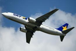 take_2014さんが、茨城空港で撮影したスカイマーク 737-8HXの航空フォト(写真)