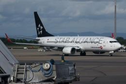 kinsanさんが、リヨン・サンテグジュペリ空港で撮影したターキッシュ・エアラインズ 737-8F2の航空フォト(飛行機 写真・画像)