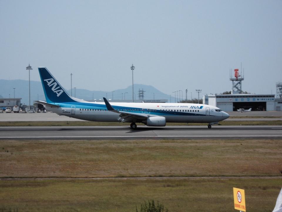 にっしーさんの全日空 Boeing 737-800 (JA56AN) 航空フォト