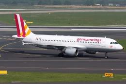 kinsanさんが、デュッセルドルフ国際空港で撮影したジャーマンウィングス A320-211の航空フォト(飛行機 写真・画像)