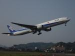 やさい弁当さんが、松山空港で撮影した全日空 777-381の航空フォト(写真)
