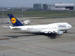 すしねこさんが、羽田空港で撮影したルフトハンザドイツ航空 747-430の航空フォト(写真)
