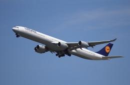 航空フォト:D-AIHV ルフトハンザドイツ航空 A340-600