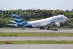 ANA744Foreverさんが、成田国際空港で撮影したプルマントゥール・エア 747-446の航空フォト(写真)