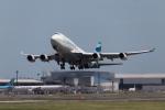 くるくもるさんが、成田国際空港で撮影したプルマントゥール・エア 747-446の航空フォト(写真)