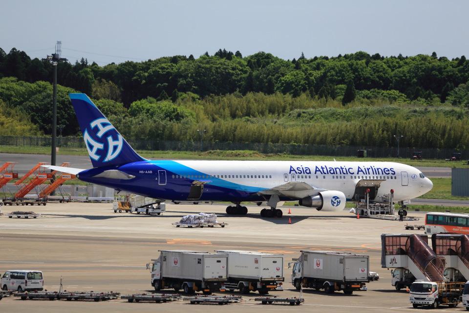T.Sazenさんのアジア・アトランティック・エアラインズ Boeing 767-300 (HS-AAB) 航空フォト