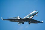 パンダさんが、羽田空港で撮影した海上保安庁 G-V Gulfstream Vの航空フォト(飛行機 写真・画像)