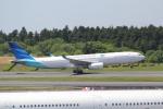 ANA744Foreverさんが、成田国際空港で撮影したガルーダ・インドネシア航空 A330-343Xの航空フォト(写真)