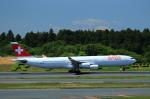 T.Sazenさんが、成田国際空港で撮影したスイスインターナショナルエアラインズ A340-313Xの航空フォト(写真)