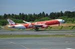 T.Sazenさんが、成田国際空港で撮影したタイ・エアアジア・エックス A330-343Eの航空フォト(飛行機 写真・画像)