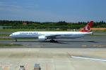 T.Sazenさんが、成田国際空港で撮影したターキッシュ・エアラインズ 777-3F2/ERの航空フォト(写真)