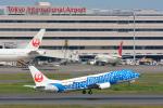 パンダさんが、羽田空港で撮影した日本トランスオーシャン航空 737-4Q3の航空フォト(写真)