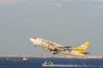 たのさんが、羽田空港で撮影したAIR DO 737-54Kの航空フォト(写真)