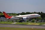 T.Sazenさんが、成田国際空港で撮影したエア・インディア 787-8 Dreamlinerの航空フォト(飛行機 写真・画像)